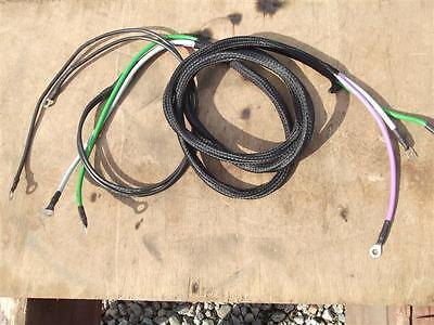 Farmall Super A A-1 Wiring Harness. Part 354231r92. Lightsreg. C-detailspic