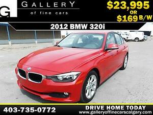 2012 BMW 320i $169 bi-weekly APPLY NOW DRIVE NOW