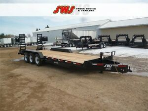 2018 NEW SWS 24' Construction Trailer