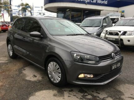 2015 Volkswagen Polo 6R MY16 66TSI DSG Trendline Grey 7 Speed Sports Automatic Dual Clutch Hatchback