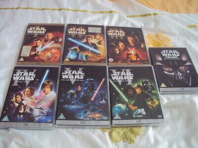 Star Wars-Original Trilogy+Prequel Trilogy.Episodes 1-6.DVD.10 Disc's