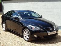2007 Lexus IS 220d 2.2TD Black Diesel Manual Silver Only 88K Miles