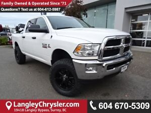 2017 RAM 3500 SLT *ACCIDENT FREE*ONE OWNER*LOCAL BC TRUCK*