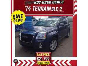 2014 GMC Terrain SLE-2  REAR VISION CAMERA! 7IN TOUCH SCREEN!