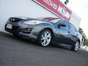 2010 Mazda 6 GH1052 MY10 Luxury Sports 5 Speed Sports Automatic Hatchback Avoca Bundaberg City Preview