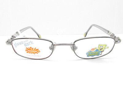 Nouveau Sponge Bob GLOW IN THE DARK Eyeglasses KIDS FRAMES 41-18-120 TV6 8534 - Glow In The Dark Eye Glasses