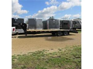 2016 Calico Extreme Heavy Duty 26' Tandem Dual Flat Deck GN