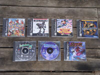 Sony Playstation 1 Video Games