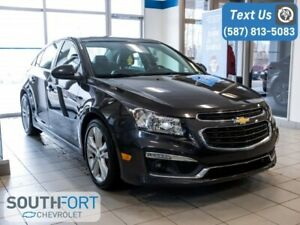 2015 Chevrolet Cruze 2LT Nav Leather Heated Seats Remote Start