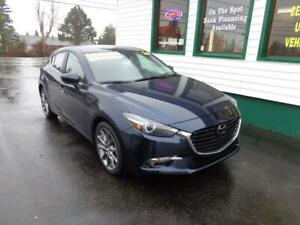 2018 Mazda3 Sport GT Premium for only $195 bi-weekly all in!