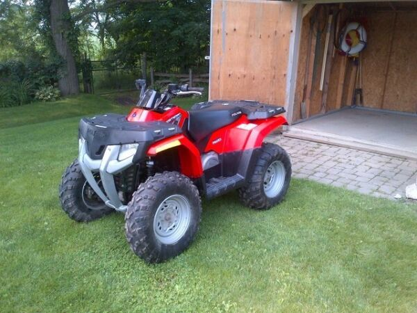 Used 2008 Polaris 450 Sportsman 4x4 H.O.