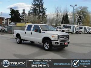 2011 FORD F-250 SUPER DUTY XLT CREW CAB SHORT BOX 4X4