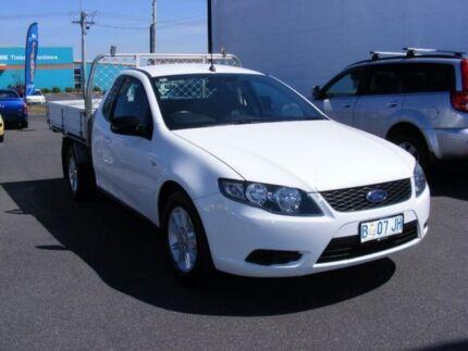 2010 Ford Falcon FG Super Cab White 5 Speed Sports Automatic Cab Chassis Devonport Devonport Area Preview