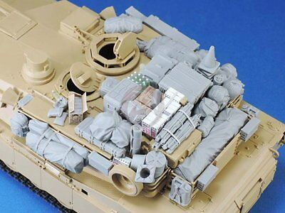 Used, Legend 1/35 M1A1 / M1A2 Abrams MBT Tank Stowage and Accessories Set III LF1359 for sale  Sterling