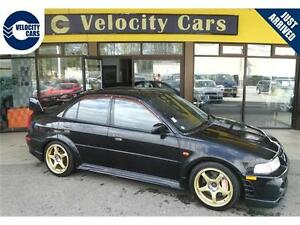 1999 Mitsubishi Evolution 6 GSR 130K's Turbo 276hp AWD OZ-Racing