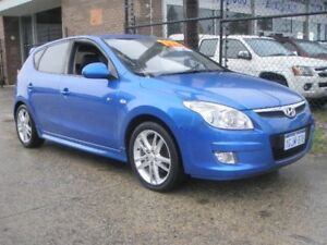 2008 Hyundai i30 FD SR Blue 4 Speed Automatic Hatchback Wangara Wanneroo Area Preview