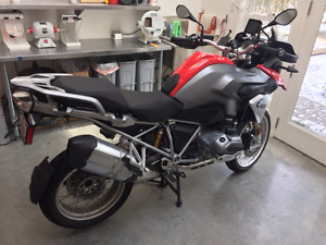 BMW R1200GS + Valises Vario