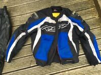 Motorbike Jacket RST Blue and white XL Tex
