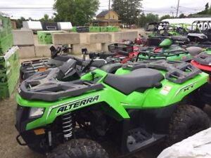 2017 Arctic Cat Alterra 700 XT EPS DEMO