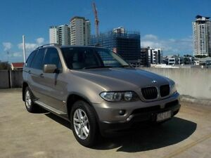 2005 BMW X5 E53 MY05 Steptronic Beige 5 Speed Sports Automatic Wagon Southport Gold Coast City Preview