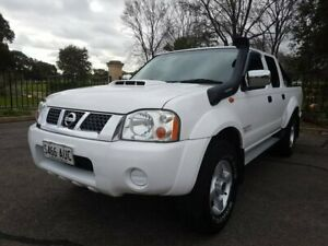 2009 Nissan Navara D22 MY2008 ST-R White 5 Speed Manual Utility Enfield Port Adelaide Area Preview