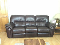"3 Seater ""Electric"" double recliner sofa"