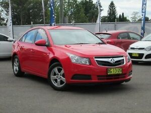 2010 Holden Cruze JG CD Red/Black 6 Speed Sports Automatic Sedan Kings Park Blacktown Area Preview