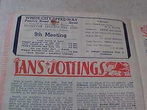 White Speedway Scotland V England May 21 1952!! London Ontario image 10