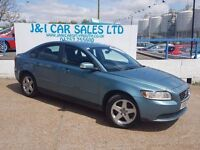 VOLVO S40 1.6 S 4d 100 BHP PRICED LOW FOR GREAT VALUE (blue) 2008