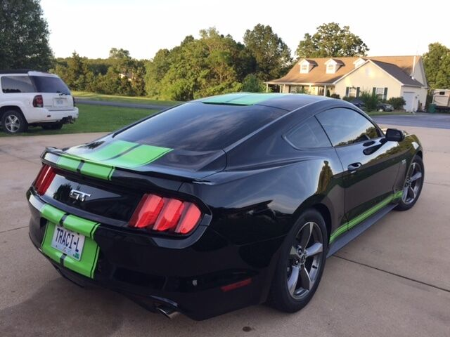"""2015 2016 2017 2018 MUSTANG 10"""" Twin Rally Stripe Stripes Decal Decals Graphics"""