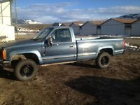 1988 GMC 1Ton 4x4 454 Automatic Low kms