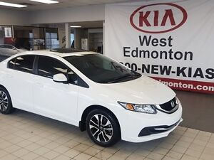 2013 Honda Civic Sdn EX, Low Kilometers, LIke New!!