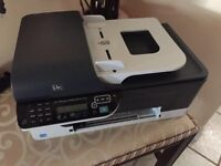 HP Officejet J4580 (with 3 ink cartridges, price negotiable)