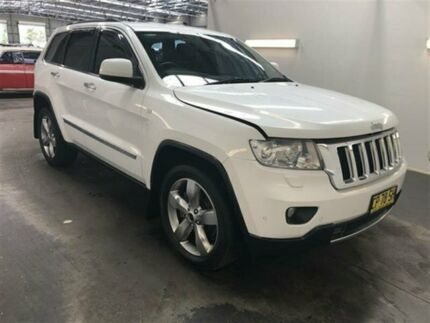 2012 Jeep Grand Cherokee WK Limited (4x4) White 5 Speed Automatic Wagon Beresfield Newcastle Area Preview