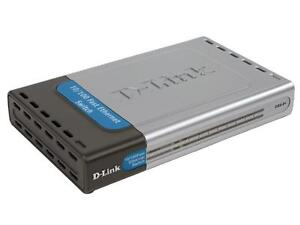 D-Link DSS-8+ 8-Port 10/100 Switch / Router