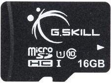 G.Skill 16GB microSDHC UHS-I/U1 Class 10 Memory Card without Adapter (FF-TSDG16G