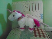 KANDYTOY Walking Unicorn Toy