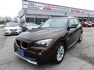 2012 BMW X1 AWD PANORAMIC 1-OWNER,NO ACCIDENT,DEALER SERVICED