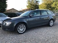 Audi A4 Avant 1.9 TDI SE 115, Grey, Tourer, with Exceptionally Low Miles and Amazing Service History