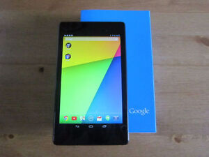 Like new Nexus 7 2013 (FHD) 32GB in box