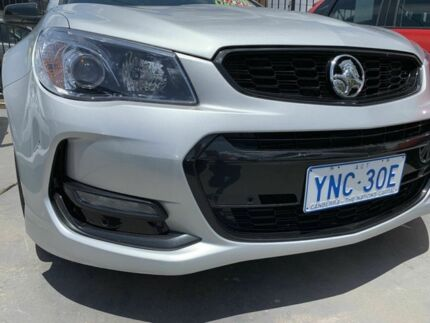 2016 Holden Commodore Vfii MY16 SV6 Black Edition Silver 6 Speed Automatic Sedan Phillip Woden Valley Preview