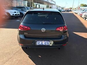 2013 Volkswagen Golf VII MY14 GTI DSG Black 6 Speed Sports Automatic Dual Clutch Hatchback Wilson Canning Area Preview