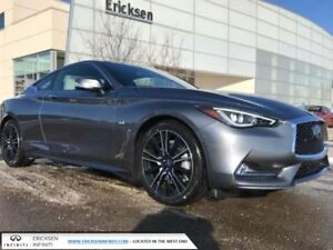2018 Infiniti Q60 EXECUTIVE DEMO / PRO-ACTIVE PKG