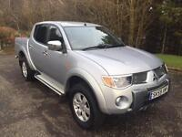 2009 59 MITSUBISHI L200 2.5 RAGING BULL NO VAT 4DR PICK UP AUTO 135 BHP DIESEL