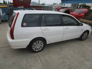 2006 Mitsubishi wagon - front left damage (written off)