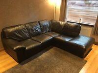 Corner Leather Sofa for Sale.