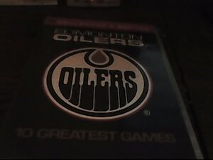 Official DVD set of famous Oiler games