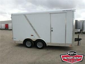 *2017* 8.5 X 14 ENCLOSED CARGO TRAILER - BARN DOORS *TAX IN*