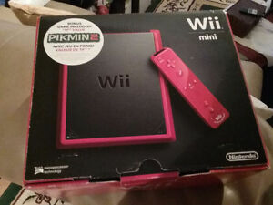 New Nintendo Wii mini Red never out of box