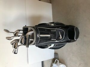 Golf Irons Putter and Bag